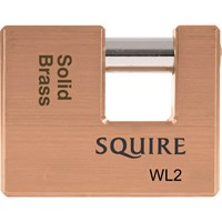 Squire Solid Brass Warehouse Padlock