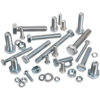 Sealey Set Screw and Nut Assortment