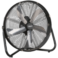 Sealey HVF20 Industrial High Velocity Floor Fan