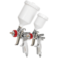 Sealey HVLP774 Gravity Feed Spray Gun Set