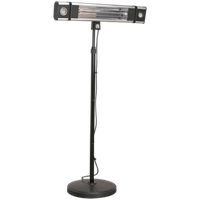 Sealey Carbon Fibre Infrared Patio Heater and Dual LED Lights