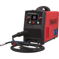 Sealey INVMIG200LCD 200Amp MIG, TIG and MMA Inverter Welder