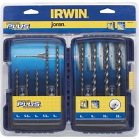 Irwin 9 Piece Speedhammer Plus SDS Drill Bit Set