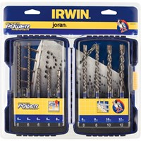 Irwin 9 Piece Speedhammer Power SDS Plus Drill Bit Set