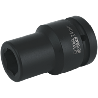 "Sealey 1"" Drive Deep Hexagon Impact Socket Metric"