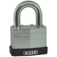 Kasp 130 Series Laminated Steel Padlock Keyed Alike