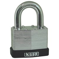 Kasp 6 Piece Shed Padlock Clip Strip Set