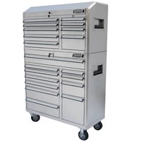 Kincrome Heavy Duty Roller Cabinet & Tool Chest Stainless Steel