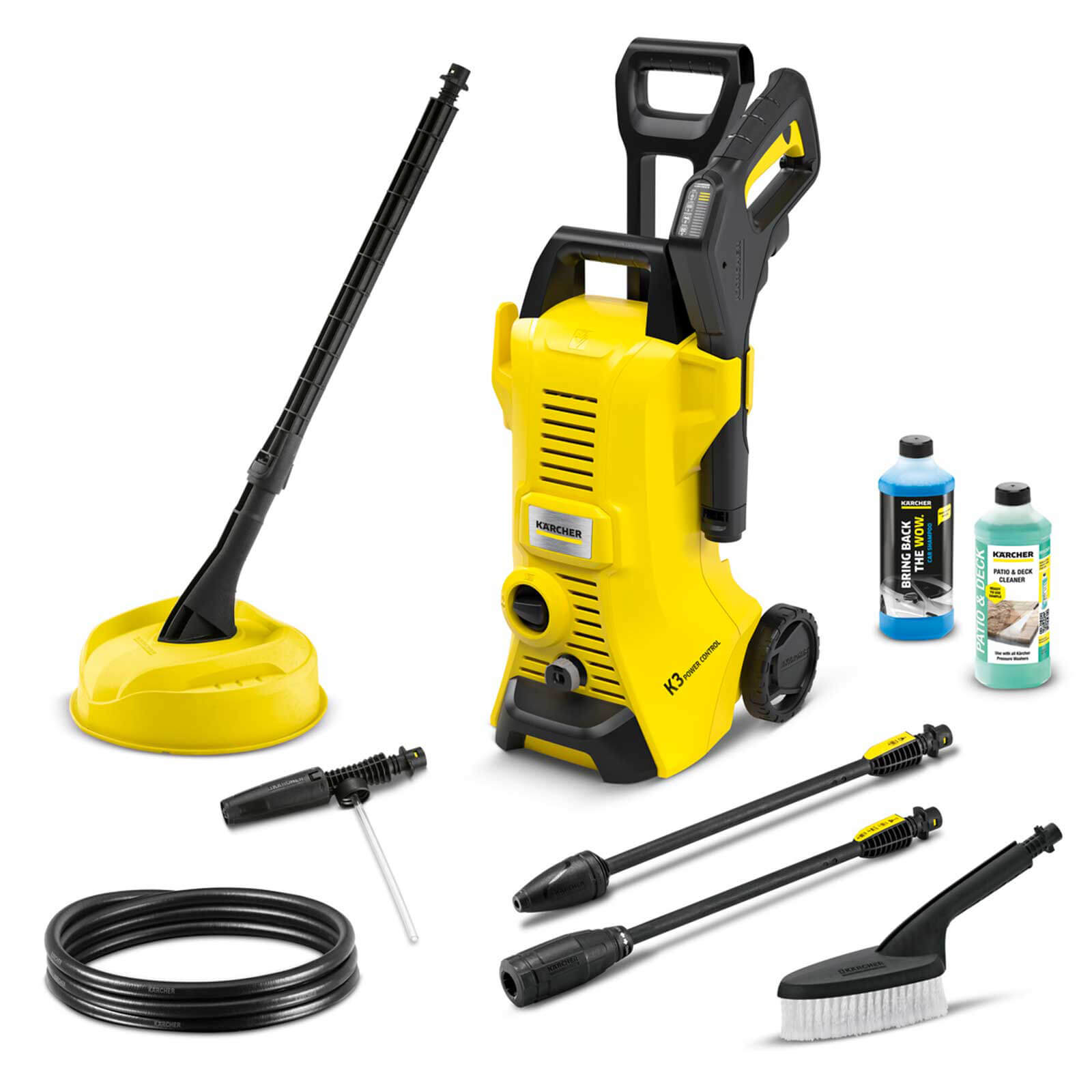 Karcher K3 Power Control Car and Home Pressure Washer 120 Bar