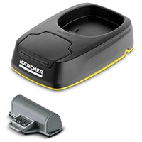 Karcher Genuine WV 5 Charging Station and Replaceable Battery