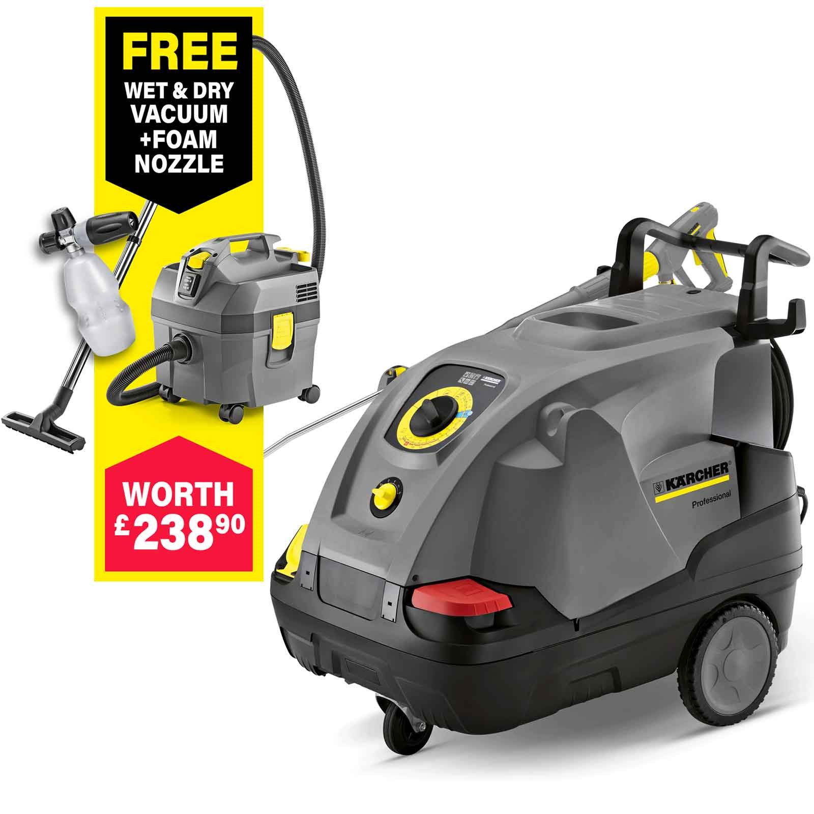 Karcher HDS 6/12 C Professional Hot Water Steam Pressure ... on