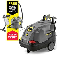 Karcher HDS 6/12 C Professional Hot Water Steam Pressure Washer 120 Bar FREE Connection Kit Worth £27.95