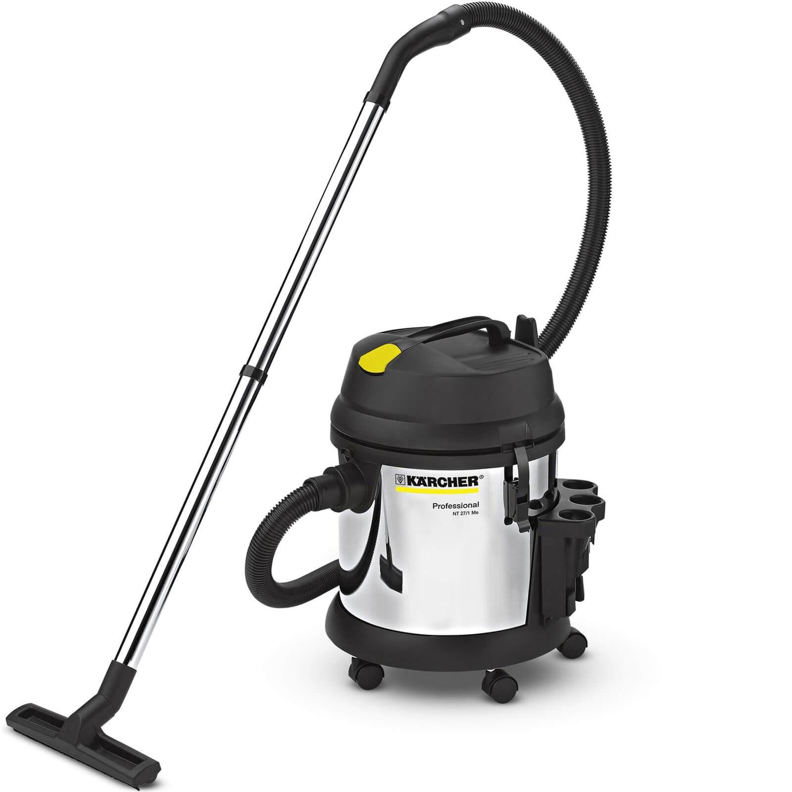 Karcher Nt 27 1 Me Professional Metal Wet Dry Vacuum Cleaner Black Decker And
