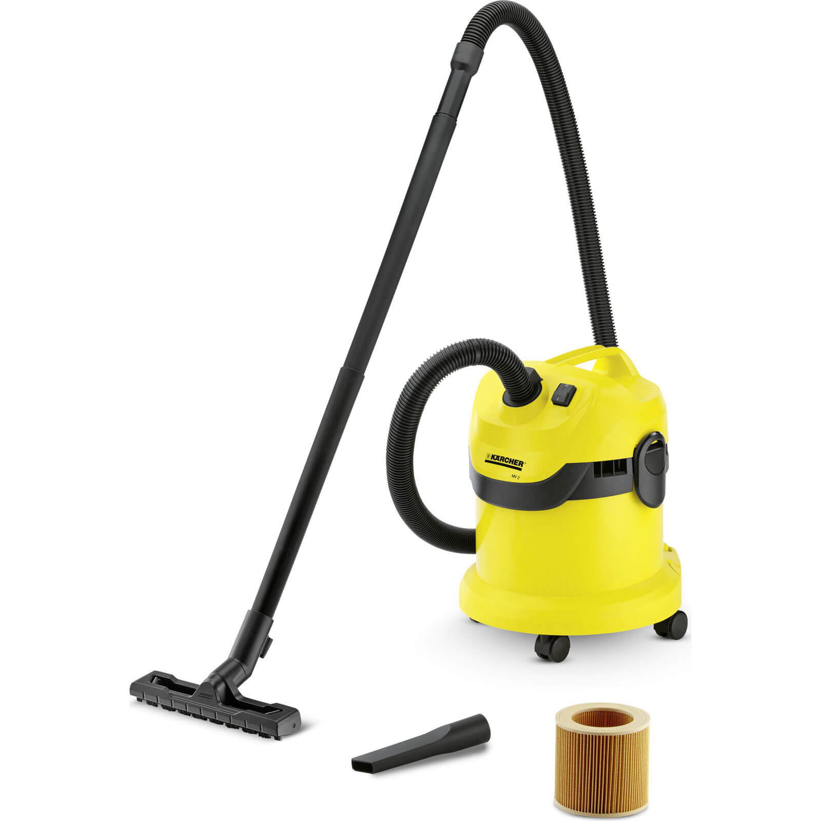Karcher WD 2 Wet and Dry Vacuum Cleaner 240v