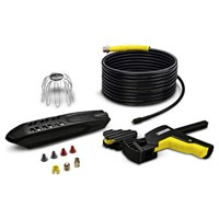Karcher Gutter & Pipe / Drain Cleaning Accessory Kit for K Pressure Washers