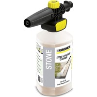 Karcher Plug n Clean Foam Nozzle with Stone Cleaner for K Pressure Washers