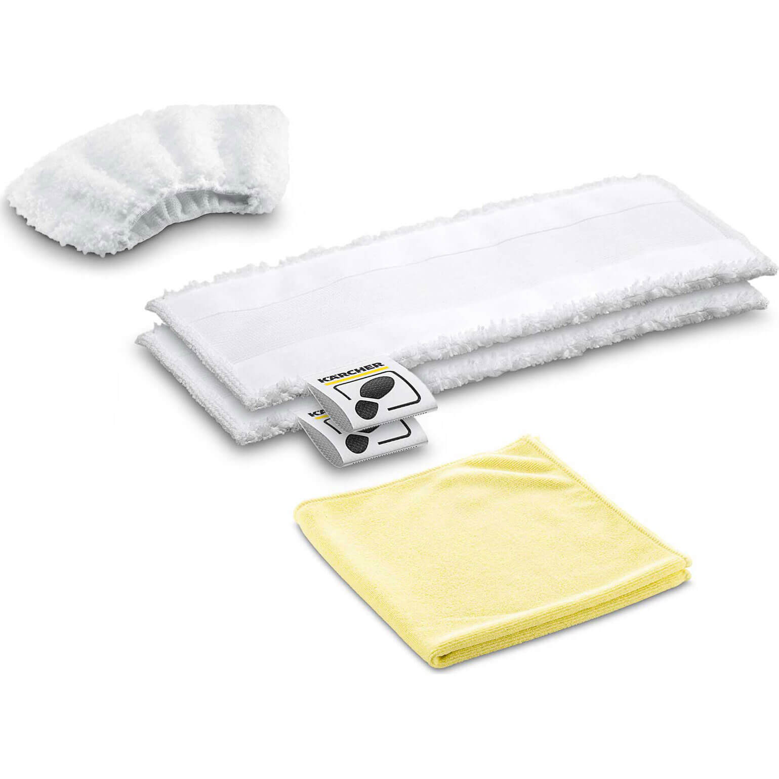 Karcher Floor Tool Kitchen Microfibre Cloth Set for SC EASYFIX Steam Cleaners