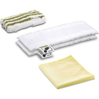 Karcher Floor Tool Bathroom Microfibre Cloth Set for SC EASYFIX Steam Cleaners
