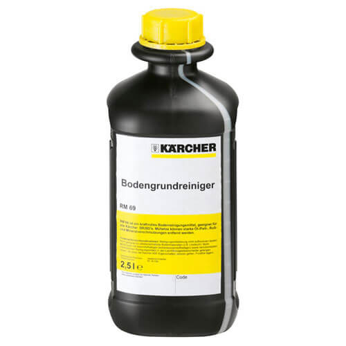 Karcher RM 69 Heavy Duty Floor Cleaning Liquid for Floor Polishers and Scrubber Driers 2.5l