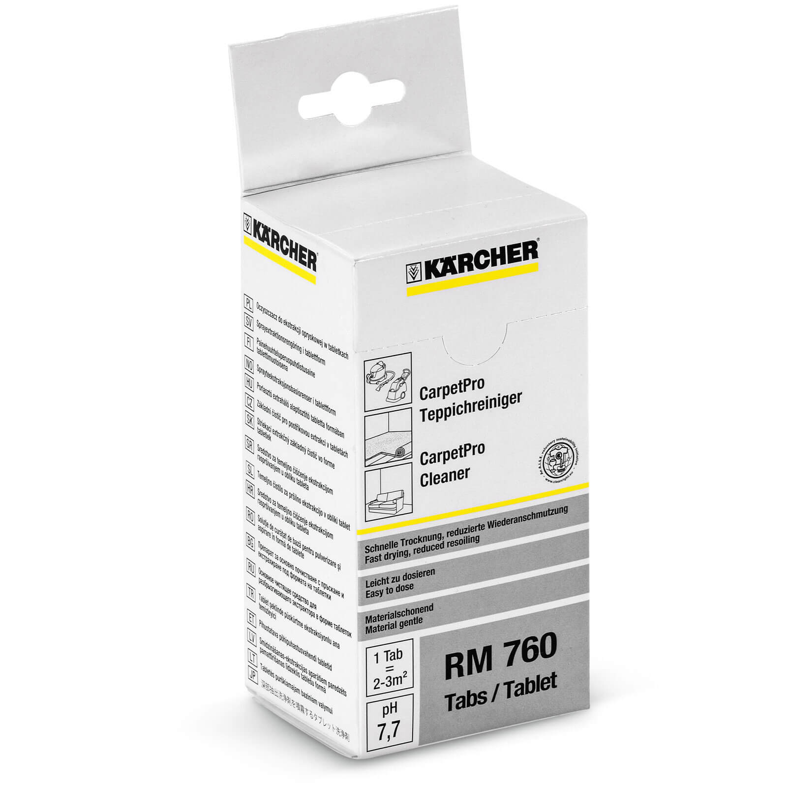 Karcher RM 760 Pro Carpet Cleaner Tablets Pack of 16