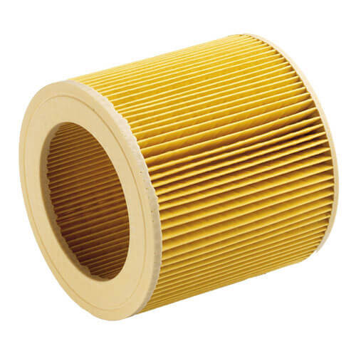 Karcher Cartridge Filter for MV or WD 1, 2 and 3 Series Vacuum Cleaners