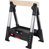 Keter Roc Lumberjack Adjustable Saw Horse