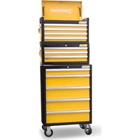 Kincrome Evolve 12 Drawer Tool Chest, Add On and Roller Cabinet Colour Combo