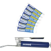 Kincrome Grease Gun and 6 Tubes General Purpose Grease