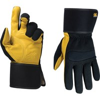 Kunys Top Grain Leather Cuff Gloves
