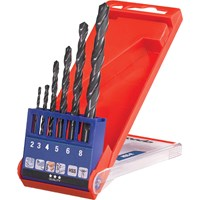 KWB 6 Piece Hss-R Twist Drill Set