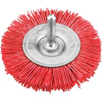 KWB Coarse Nylon Bristle Wheel Brush