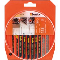 KWB Assorted Jigsaw Blade Set