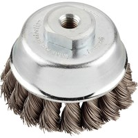 KWB Steel Twist Knot Wire Cup Brush