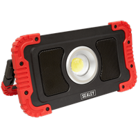 Sealey LED100WS Cordless Worklight Speaker and Power Bank