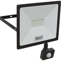 Sealey Extra Slim PIR Sensor 50w LED Floodlight