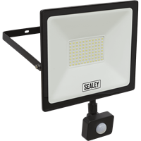 Sealey Extra Slim PIR Sensor 70w LED Floodlight