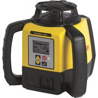 Leica Geosystems Rugby 670 Rotating Laser Level & Rod Eye 140