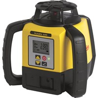 Leica Geosystems Rugby 680 Rotating Laser Level & Rod Eye 140