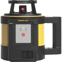Leica Geosystems Rugby 810 Rotating Laser Level & Rod Eye 140