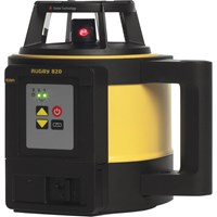 Leica Geosystems Rugby 820 Rotating Laser Level & Rod Eye 160