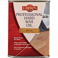 Liberon Professional Hard Wax Oil