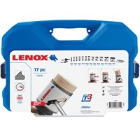 Lenox 17 Piece Contractors Hole Saw Set