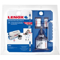 Lenox 7 Piece Contractors Mini Hole Saw Set
