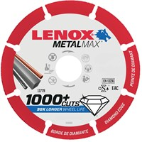 Lenox MetalMax Diamond Metal Cutting Disc