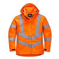 Oxford Weave 300D Ladies Class 3 Hi Vis Jacket