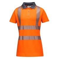 Portwest Ladies Class 2 Hi Vis Polo Shirt