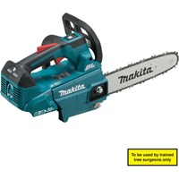Makita DUC256Z 18v Cordless LXT Brushless Top Handled Chainsaw