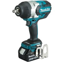 "Makita DTW1002 18v Cordless LXT Brushless 1/2"" Drive Impact Wrench"