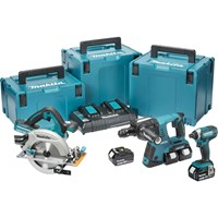 Makita DLX3049PTJ 18v Cordless LXT 3 Piece Power Tool Kit