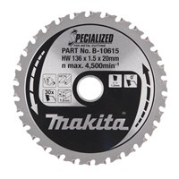 Makita SPECIALIZED Cordless Metal Cutting Saw Blade